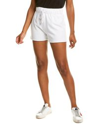 James Perse Fleece Sweat Short - White
