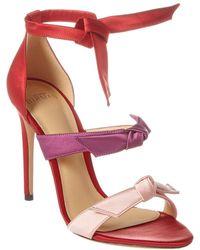 Alexandre Birman Lolita 110 Satin Sandal - Red