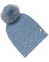 Yves Salomon - Fox Fur & Wool Beanie - Lyst