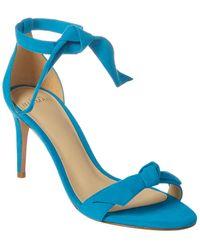 Alexandre Birman Clarita 75 Suede Sandal - Blue