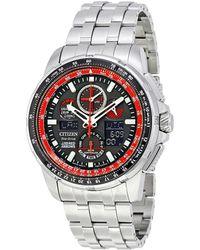 Citizen Men's Stainless Steel Bracelet Watch - Metallic