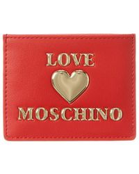 Love Moschino Card Case - Red