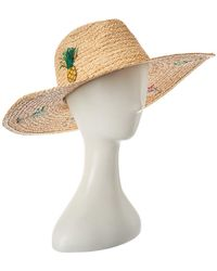 Hat Attack Tropical Party Sunhat - Natural