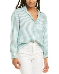 Max Mara Weekend Uscita 2 Linen Shirt - Gray
