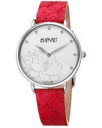 August Steiner - Women's Diamond Watch - Lyst