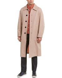 Burberry Tropical Gabardine Coat - Brown