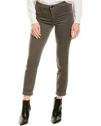 J Brand Anja Mid-rise Future Cuffed Crop - Gray