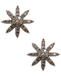 Adornia - Fine Jewellery Silver Studs - Lyst