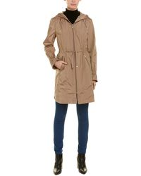 Cole Haan Hooded Anorak - Natural
