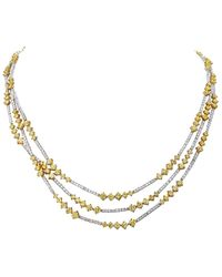 Diana M. Jewels . Fine Jewellery Platinum 5.92 Ct. Tw. Diamond Ring - Metallic