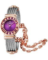 Charriol St Tropez Diamond Watch - Multicolor
