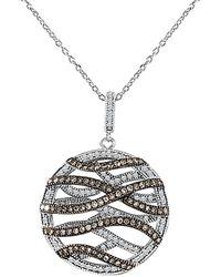 Sabrina Designs 14k 0.95 Ct. Tw. Diamond Necklace - Metallic