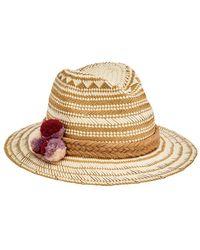 San Diego Hat Company Fedora - Natural