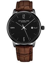 Stuhrling Original Men's Symphony Watch - Black
