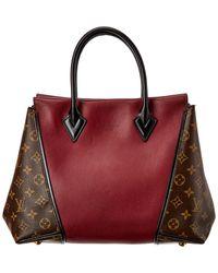 Louis Vuitton Burgundy Veau Cachemire Totem Pm - Red
