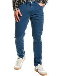 Zadig & Voltaire David Crop Colour Pant - Blue