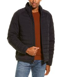 Cole Haan Quilted Jacket - Blue