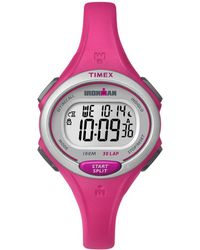 Timex Women's Rubber Watch - Pink