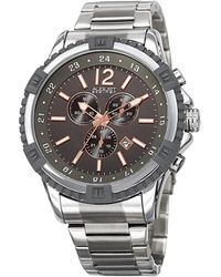 August Steiner Stainless Steel Watch - Metallic