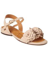 Chie Mihara Naha Leather Sandal - Natural
