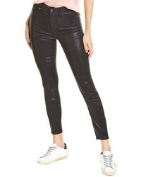 7 For All Mankind 7 For All Mankind Black Glitter Ankle Skinny Jean