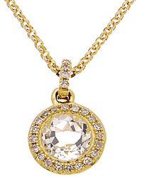 Diana M. Jewels - . Fine Jewelry 14k 0.93 Ct. Tw. Diamond Pendant - Lyst