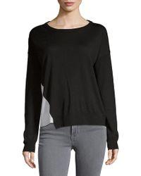 Zadig & Voltaire - Colorblock Merino Wool Sweater - Lyst