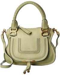 Chloé Marcie Small Leather Satchel - Multicolour