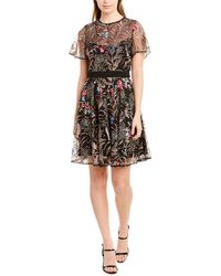 ML Monique Lhuillier A-line Dress - Black