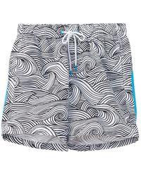 Sundek Swim Trunk - White