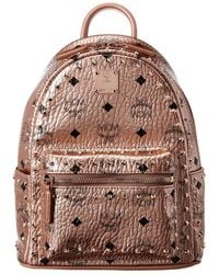 MCM Stark Backpack Small - Metallic