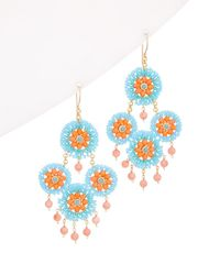 Miguel Ases 14k Filled Earrings - Multicolour