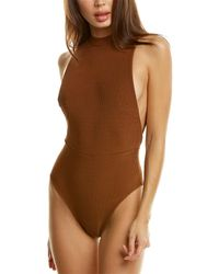 Haight Kate Knit One-piece - Brown