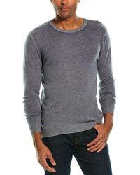 Autumn Cashmere Inked Cashmere Crewneck Sweater - Gray