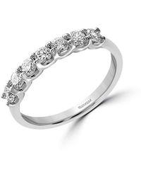 Effy - Pavé Classica Diamonds And 14k White Gold Ring - Lyst