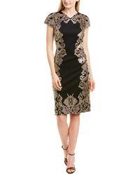 Tadashi Shoji Sheath Dress - Black