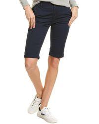 AG Jeans Analise Tailored Sulfur Dark Cove Bermuda Short - Blue