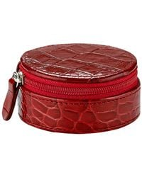 Graphic Image Jewelry Case - Red