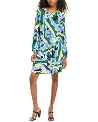 Donna Morgan Long Sleeve Mini Jersey Dress - Black