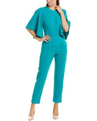Black Halo Jumpsuit - Green