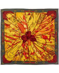 "Hermès - ""soleil De Soie,"" By Caty Latham Silk Scarf - Lyst"
