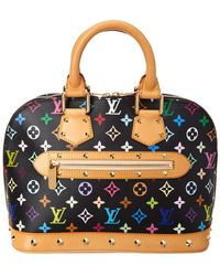 Louis Vuitton - Black Monogram Multicolore Canvas Alma Pm - Lyst