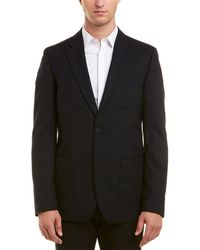 Vince Velvet Patch Pocket Blazer