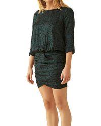 Ba&sh Short Dress Minela - Green