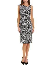 Donna Ricco Sheath Dress - Black