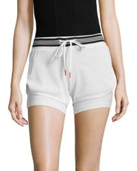 X By Gottex - Mesh Overlay Shorts - Lyst