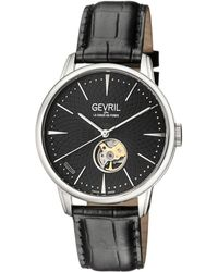 Gevril Watches - Mulberry Stainless Steel Automatic Watch, 41mm - Lyst