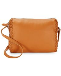 Cole Haan - Medium Leather Crossbody Bag - Lyst