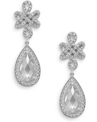 Freida Rothman - Classics Deco Teardrop Earrings - Lyst