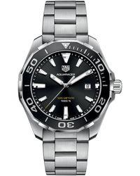 Tag Heuer Men's Aquaracer Watch - Metallic